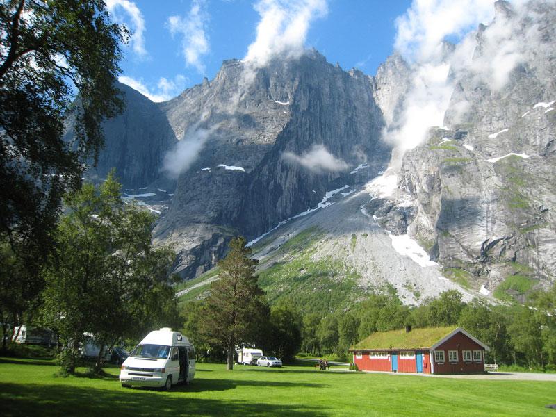 , Trollveggen Camping